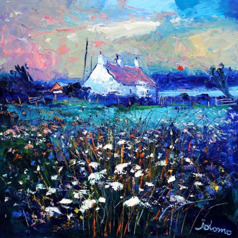 Evening Gloaming Isle Of Gigha John Lowrie Morrison Obe