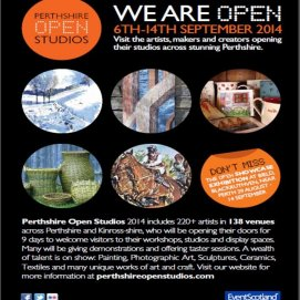 Perthshire Open Studios Are Coming!