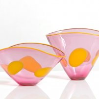 Kalki Mansel Elliptical Vase and Bowl