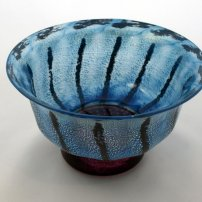 Allister Malcolm Small Blue Daisy Bowl