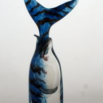 Allister Malcolm Blue Fish Tail Bottle