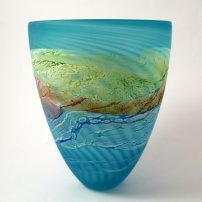 Thomas Petit Sea Shore Waves Smaller Medium Bowl