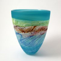 Thomas Petit Sea Shore Waves Small Bowl