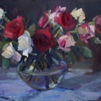 Marion  Drummond Crimson and Cream
