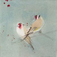 Claire Harkess RSW Goldfinch i