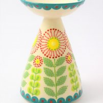 Katrin Moye Daisy Candle Holder