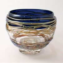 Allister Malcolm Large Golden Trailing Bowl
