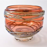 Allister Malcolm Small Golden Trailing Bowl