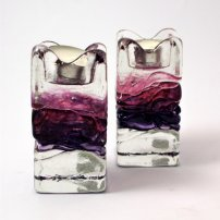 Sanders and Wallace Amethyst Tealights