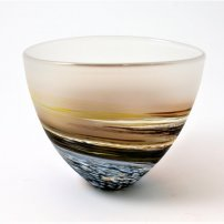 Richard Glass Red Rockpool Bowl