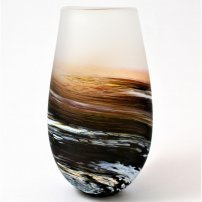Richard Glass Rockpool Tall Bud Vase