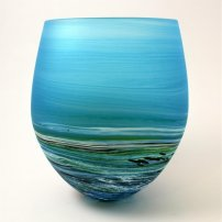 Richard Glass Seascape Round Aqus