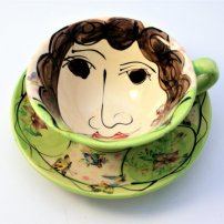 Karen  Atherley Cup and Saucer