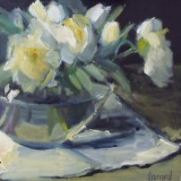 Marion  Drummond White Peonies
