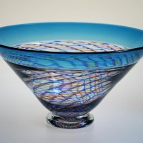 Mike Hunter Coloured Willow Bowl