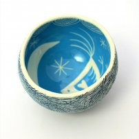 Kath Cooper Small Pinch Pot (KCO22/18)