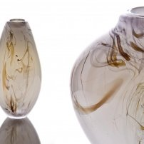 Kalki Mansel White Smoke Trail Vase