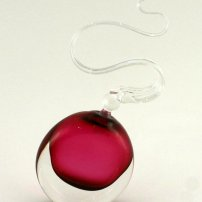 Bob Crooks Wave Scent Bottle - Red