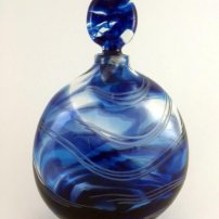 Allister Malcolm Blue Contours Bottle
